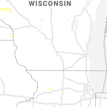 Regional Hail Map for Madison, WI - Monday, August 23, 2021