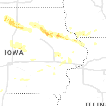 Regional Hail Map for Cedar Rapids, IA - Tuesday, August 24, 2021
