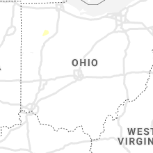 Regional Hail Map for Columbus, OH - Tuesday, August 24, 2021