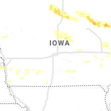 Regional Hail Map for Des Moines, IA - Tuesday, August 24, 2021
