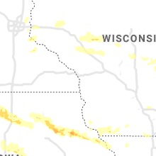 Regional Hail Map for La Crosse, WI - Tuesday, August 24, 2021