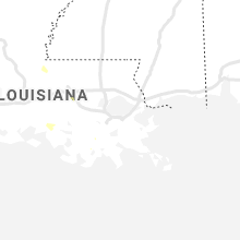 Regional Hail Map for New Orleans, LA - Tuesday, August 24, 2021