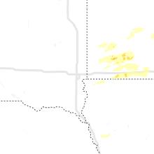 Regional Hail Map for Sioux Falls, SD - Tuesday, August 24, 2021