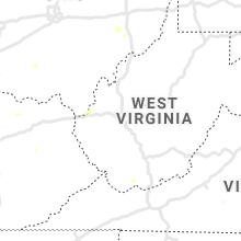 Regional Hail Map for Charleston, WV - Wednesday, August 25, 2021