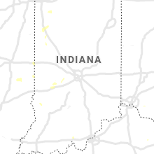 Regional Hail Map for Indianapolis, IN - Wednesday, August 25, 2021