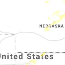 Regional Hail Map for North Platte, NE - Wednesday, August 25, 2021