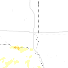 Regional Hail Map for Sioux Falls, SD - Wednesday, August 25, 2021