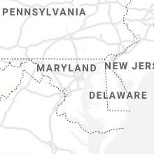 Regional Hail Map for Baltimore, MD - Thursday, August 26, 2021