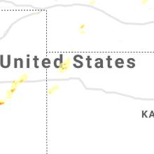 Regional Hail Map for Colby, KS - Thursday, August 26, 2021