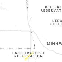Regional Hail Map for Fargo, ND - Thursday, August 26, 2021