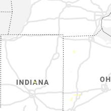 Regional Hail Map for Fort Wayne, IN - Thursday, August 26, 2021