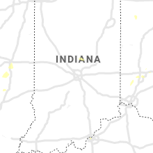 Regional Hail Map for Indianapolis, IN - Thursday, August 26, 2021