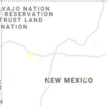 Regional Hail Map for Albuquerque, NM - Friday, August 27, 2021