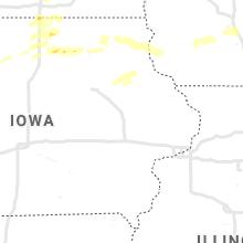 Regional Hail Map for Cedar Rapids, IA - Friday, August 27, 2021