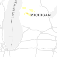 Regional Hail Map for Grand Rapids, MI - Friday, August 27, 2021