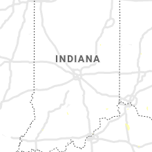 Regional Hail Map for Indianapolis, IN - Friday, August 27, 2021