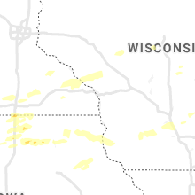 Regional Hail Map for La Crosse, WI - Friday, August 27, 2021