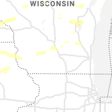 Regional Hail Map for Madison, WI - Friday, August 27, 2021