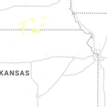 Regional Hail Map for Manhattan, KS - Friday, August 27, 2021