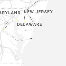 Regional Hail Map for Ocean City, MD - Friday, August 27, 2021