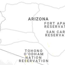 Regional Hail Map for Phoenix, AZ - Friday, August 27, 2021
