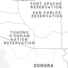 Regional Hail Map for Tucson, AZ - Friday, August 27, 2021