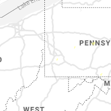 Regional Hail Map for Pittsburgh, PA - Saturday, August 28, 2021