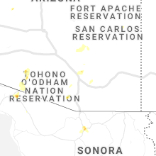 Regional Hail Map for Tucson, AZ - Saturday, August 28, 2021