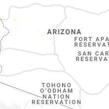 Regional Hail Map for Phoenix, AZ - Sunday, August 29, 2021