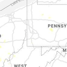 Regional Hail Map for Pittsburgh, PA - Sunday, August 29, 2021