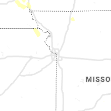 Regional Hail Map for Kansas City, MO - Monday, August 30, 2021