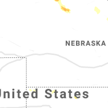 Regional Hail Map for North Platte, NE - Monday, August 30, 2021