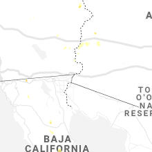 Regional Hail Map for Yuma, AZ - Monday, August 30, 2021