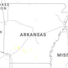 Regional Hail Map for Little Rock, AR - Wednesday, September 1, 2021