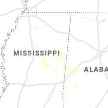 Regional Hail Map for Starkville, MS - Wednesday, September 1, 2021