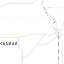 Regional Hail Map for Manhattan, KS - Thursday, September 2, 2021