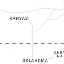 Regional Hail Map for Wichita, KS - Thursday, September 2, 2021
