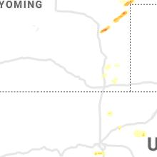 Regional Hail Map for Laramie, WY - Friday, September 3, 2021