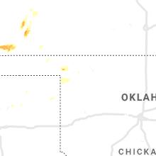Regional Hail Map for Woodward, OK - Friday, September 3, 2021