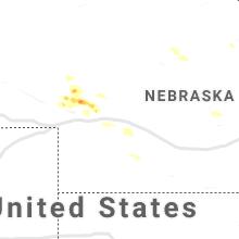 Regional Hail Map for North Platte, NE - Saturday, September 4, 2021
