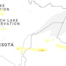 Regional Hail Map for Duluth, MN - Monday, September 6, 2021