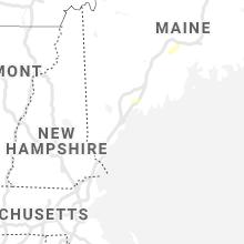 Regional Hail Map for Portland, ME - Monday, September 6, 2021