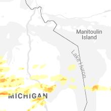 Regional Hail Map for Alpena, MI - Tuesday, September 7, 2021