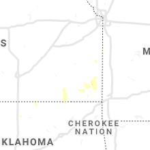 Regional Hail Map for Chanute, KS - Tuesday, September 7, 2021