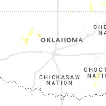 Regional Hail Map for Oklahoma City, OK - Tuesday, September 7, 2021