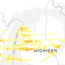 Regional Hail Map for Traverse City, MI - Tuesday, September 7, 2021