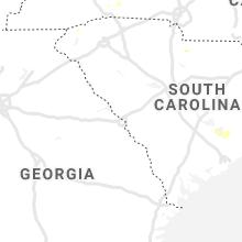 Regional Hail Map for Augusta, GA - Wednesday, September 8, 2021