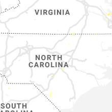 Regional Hail Map for Raleigh, NC - Wednesday, September 8, 2021