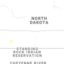 Regional Hail Map for Bismarck, ND - Sunday, September 12, 2021