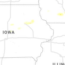 Regional Hail Map for Cedar Rapids, IA - Sunday, September 12, 2021